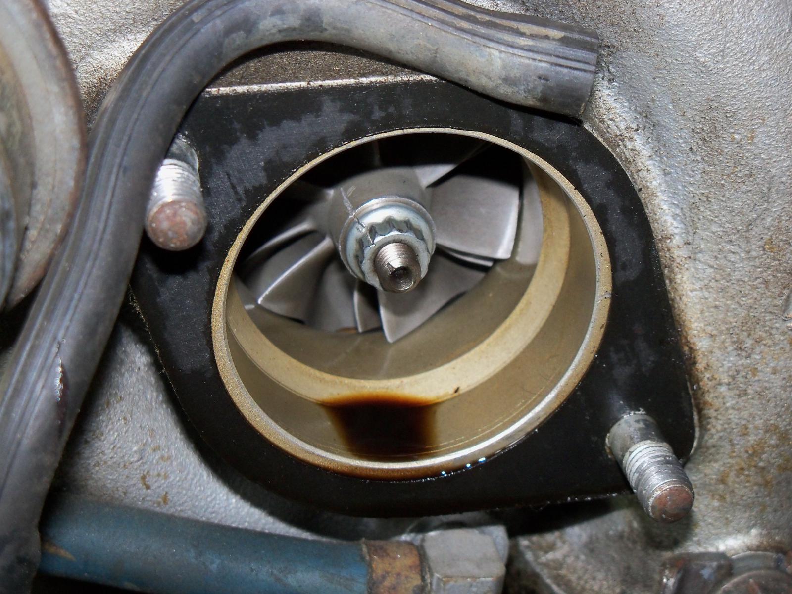 Oil in Turbo - intake side - TurboBuicks com
