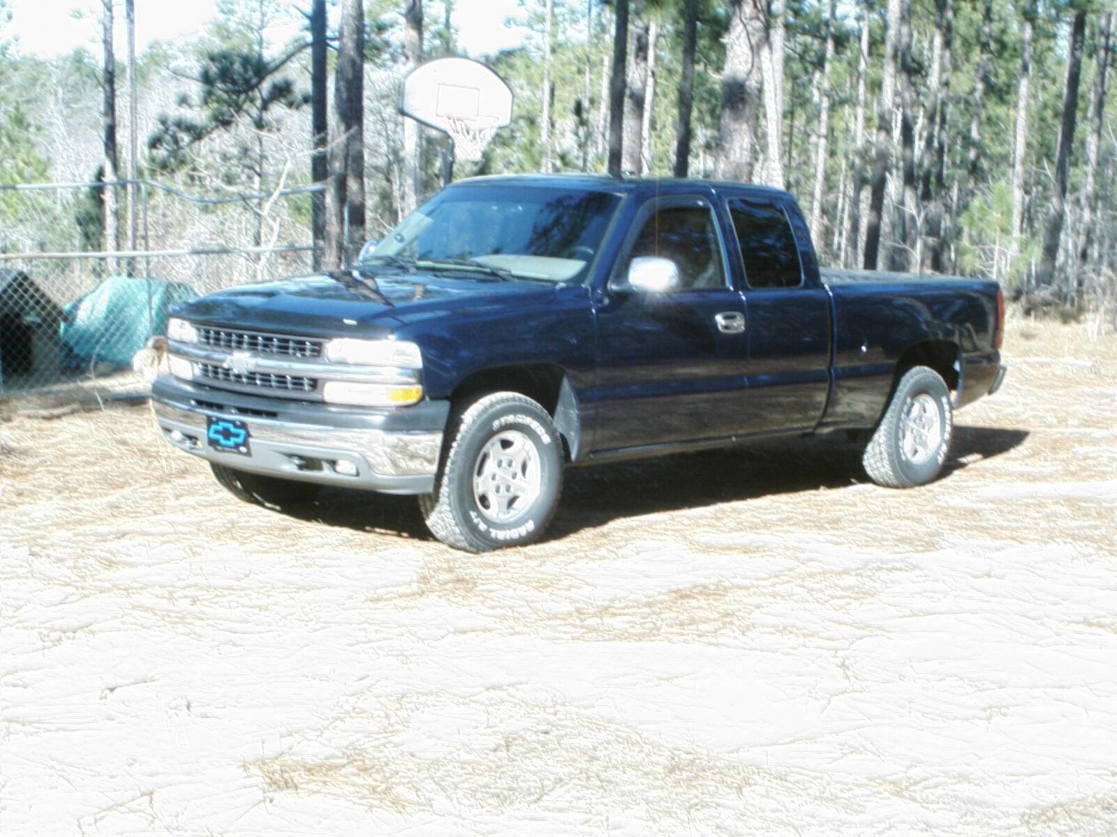 99 Chevy Silverado X Cab 4x4 Z71 Trade 99csls1