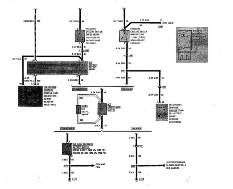 [SCHEMATICS_4LK]  AC wiring diagram - TurboBuicks.com | Buick Ac Wiring Diagram |  | TurboBuicks.com