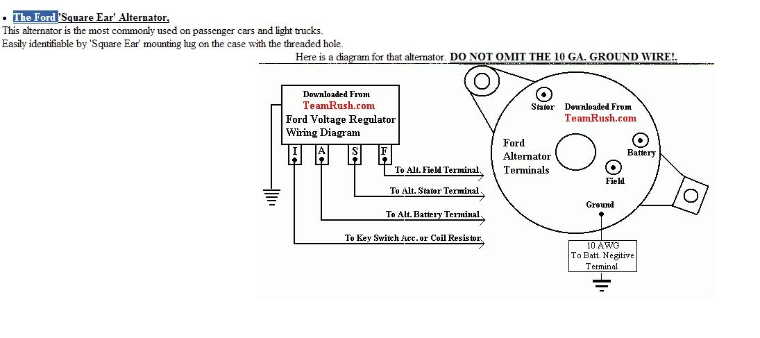 autolite alternator wiring diagram autolite wiring diagrams online old ford alternator issues alt wiring jpg autolite alternator