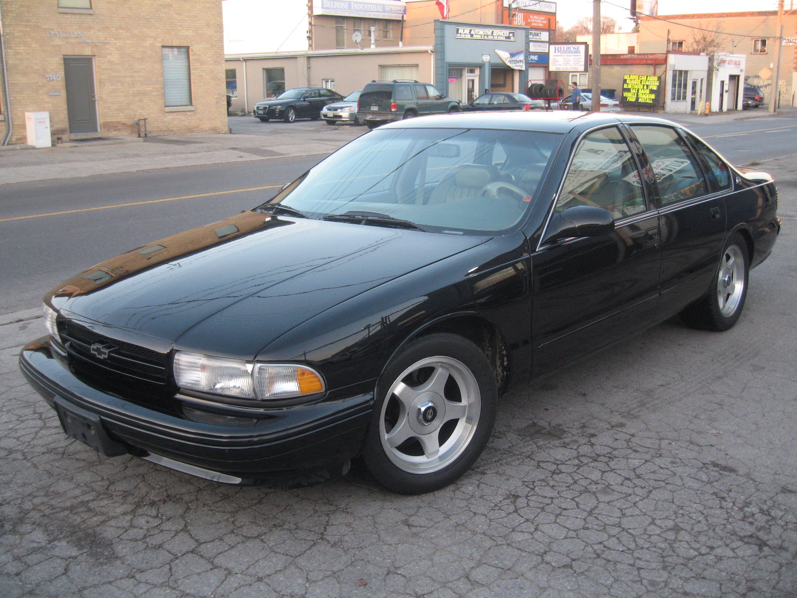 1996 Chevy Caprice For Sale 1996 Chevrolet Impala SS Sedan - City of Toronto Cars For Sale ...