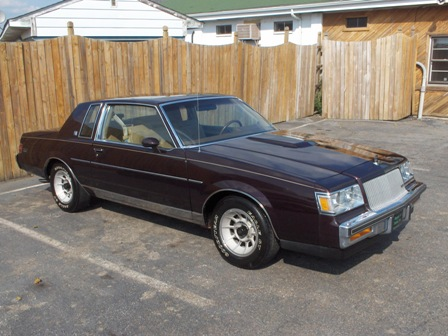 1987 Buick Regal limited 6cyl turbo. 29000 miles for sale.
