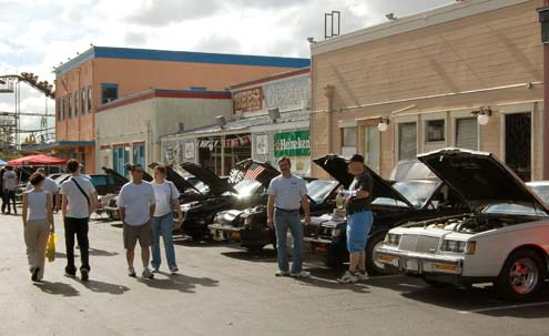 Turbo Buicks At Old Town Kissimmee FL Sunday April - Old town kissimmee florida car show