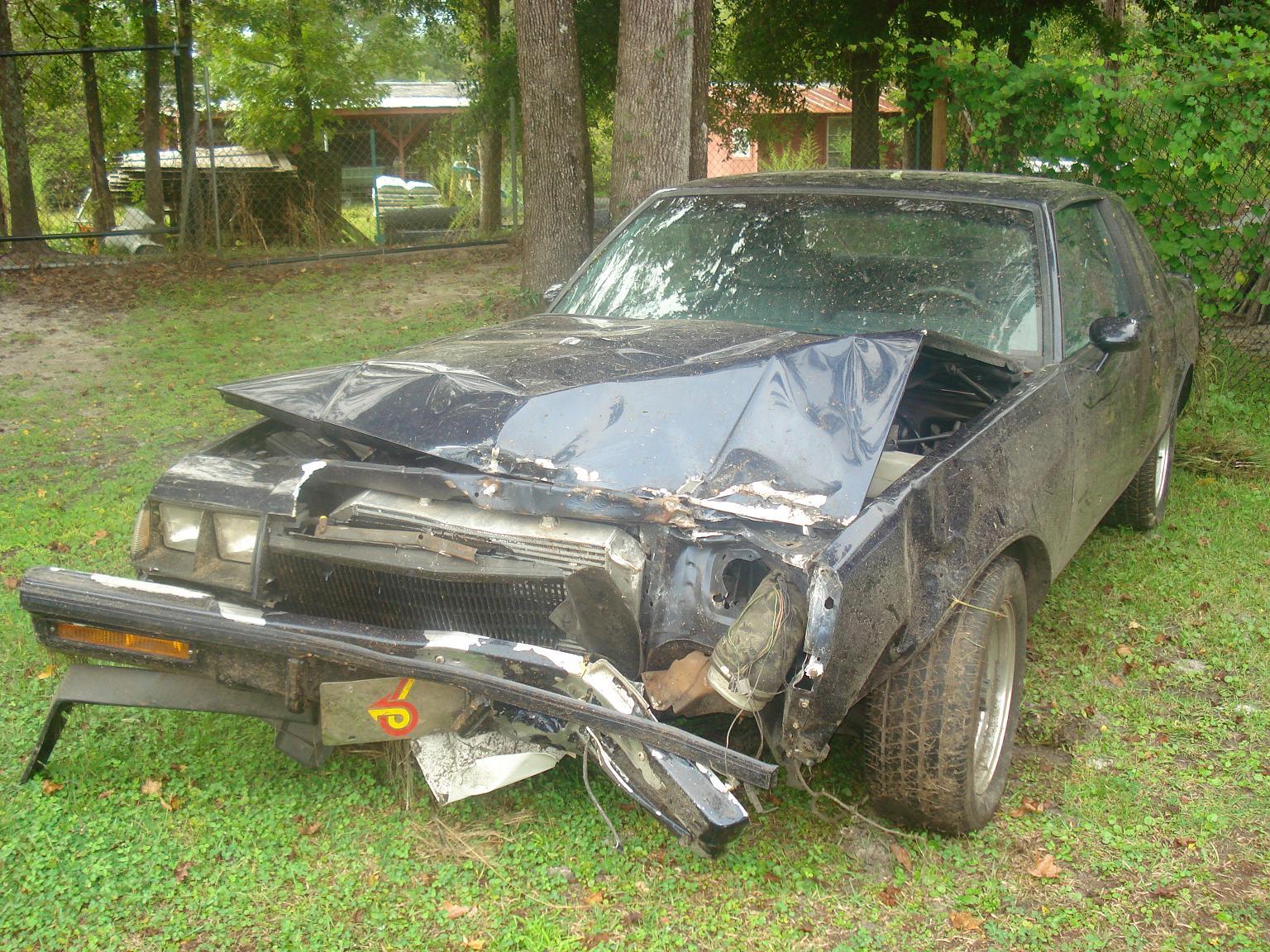 Wrecked my car.For sale.(pics) - TurboBuicks.com
