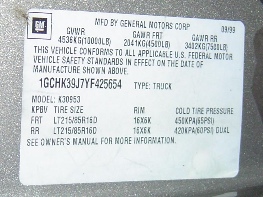WTS: 2000 Chevy Ext cab 4x4 Dually 454 ***LOTSA pics*** - TurboBuicks ...