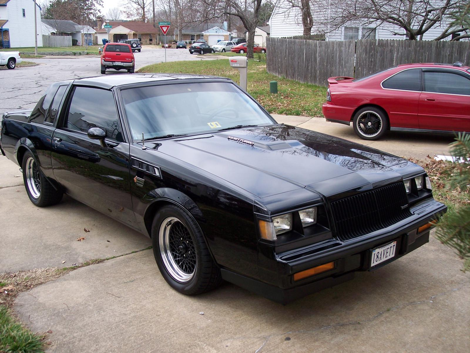 1986 buick grand national for sale in virginia beach. Black Bedroom Furniture Sets. Home Design Ideas