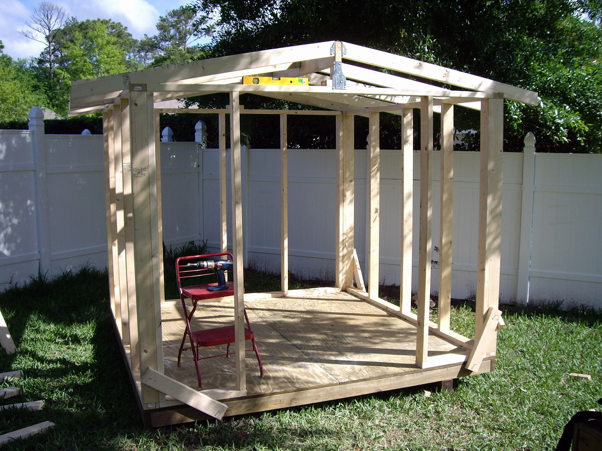 how to build a shed ramp pictures