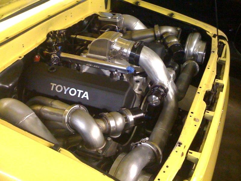Mazda B-series or REPU V8 Drag Truck?